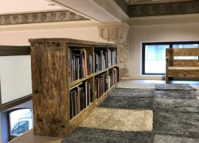 Libreria in Legno Paci Contemporary